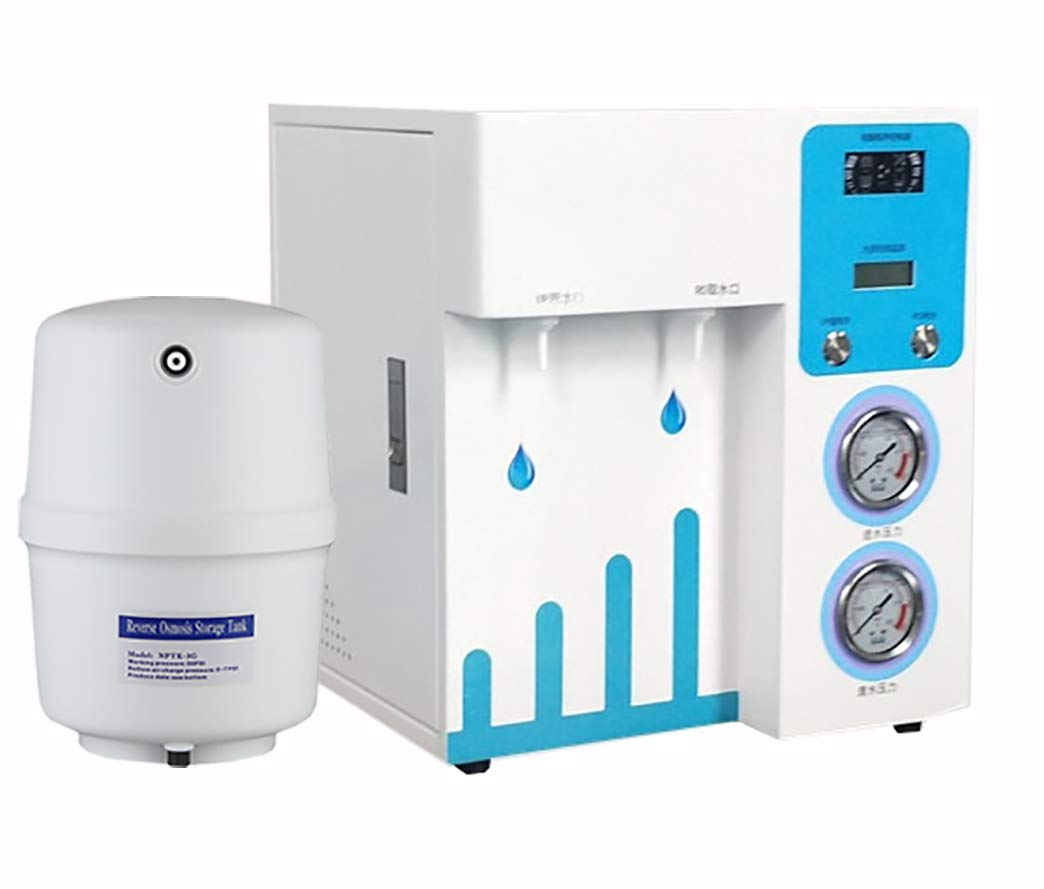 BAOSHISHAN Lab Ultra Pure Water Machine Ultrapure Water System with 3.2 Gallon RO Water Storage Tank Industrial Deionized Water Machine 220V (30L/h) by BAOSHISHAN