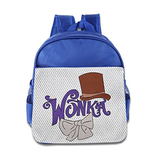 [Gene Wilder Willy Wonka School Toddler Backpack Boys Girls Bags RoyalBlue] (Willy Wonka Costumes Girl)