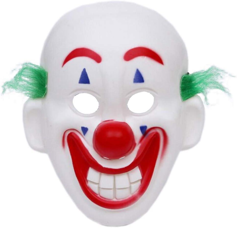 Lim 2019 Joker Mascaras Payaso Carnaval Venecianas Asesino Espeluznante Joker, Cosplay Divertido De La Máscara De Terror De Payaso Joker, Arthur Fleck Cosplay DC Movie Clown Máscaras De Carnaval