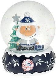 MLB New York Yankees 2012 Holiday Snow Globe, 100mm