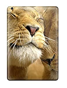 New Style Case Cover SybVjCE4433gTDYv Loving Lions Compatible With Ipad Air Protection Case