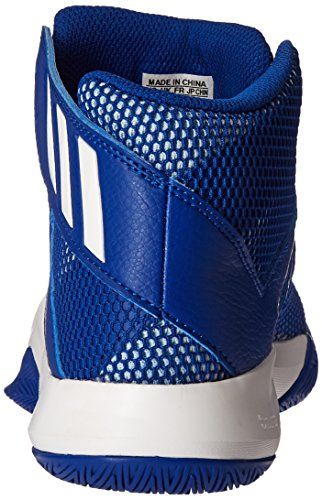 Adidas Prestaties Mens Gek Bounce Basketbalschoen Collegiale Royal / Wit / Ice Blauwe Stof