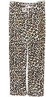 Aegean Apparel Women's Leopard Printed Plush Pant
