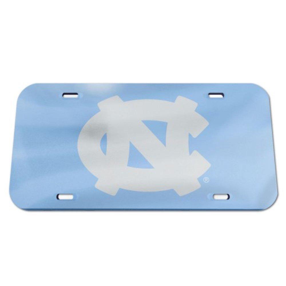 North Carolina Tar Heels UNC Logo Crystal Mirror License Plate