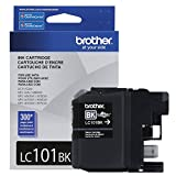 Brother LC101BK Black Original Ink Standard Yield (300 Yield)