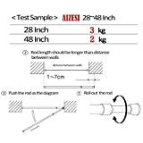AIZESI 2PCS Spring Tension Curtain Rod, 28 to