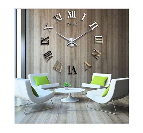 Amazon Com Time Letters Roman Numerals Large Size Modern