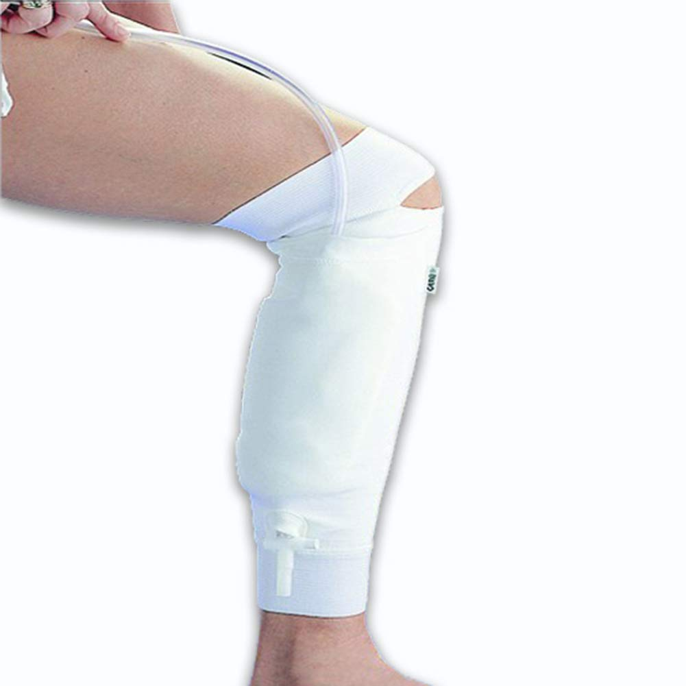 Urine Catheter Leg Bag Holder Sleeve for Urine Bags Drainage Bags Holder Incontinence (Not Include Urine Bag),S