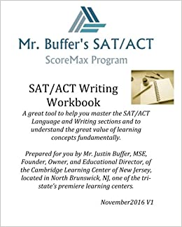 SAT/ACT Writing Workbook: Cambridge Learning Center ...