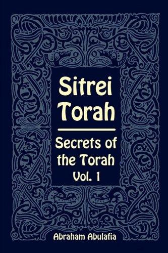 Sitrei Torah, Secrets of the Torah, Vol. 1 by Brand: Providence University