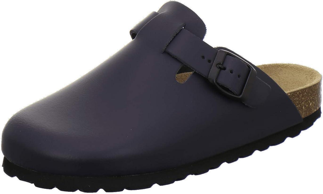 Supersoft 276-002 Chaussures pour Femme en Cuir Bleu