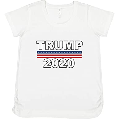 abea8ef1d inktastic - Trump 2020 Maternity Shirt 2cd14 at Amazon Women's Clothing  store: