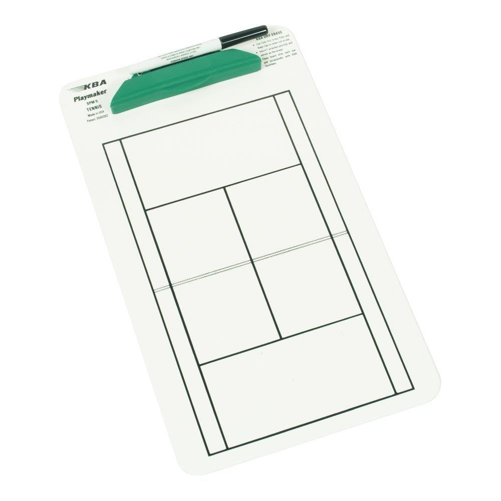 Posey Tennis Playboard, White/Green