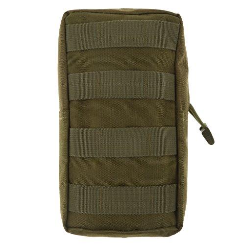 Fenteer Taktische Outdoor Zubehörtasche wasserdicht im Freien Tasche Armee Grün