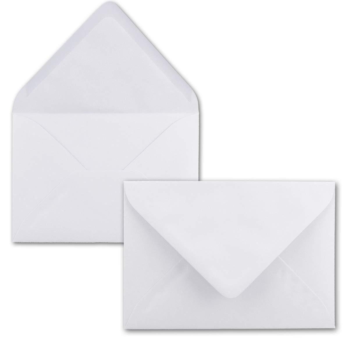 500 Mini Brief-Umschläge - Hell-Blau - 5,2 x 7,6 7,6 7,6 cm - Miniatur KuGrüns mit Nassklebung für Blaumen-Grüße, Grußkarten, Anhänger & Geld-Geschenke - Gustav Neuser® B07PNJ9ZP5 | Adoptieren  7c9d5b