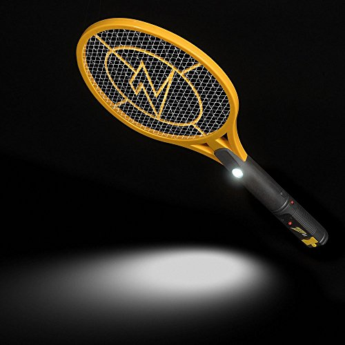 ZAP IT! Bug Zapper - Rechargeable Mosquito, Fly Killer and Bug Zapper Racket - 4,000 Volt - USB Charging, Super-Bright LED Light to Zap in The Dark - Safe to Touch (Mini) by ZAP IT! (Image #4)