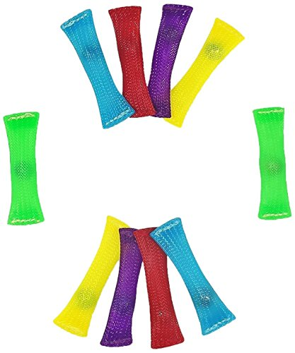 MECULE Fidget Toy Stress/Anxiety Relief for Adults and Kids, 10 Count