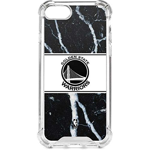 buy popular 5d907 c21b7 Amazon.com: Skinit Golden State Warriors Marble iPhone 8 Clear Case ...