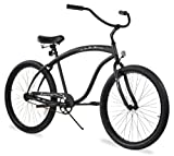 Firmstrong Bruiser Man Single Speed Beach Cruiser Bicycle, 26-Inch,...
