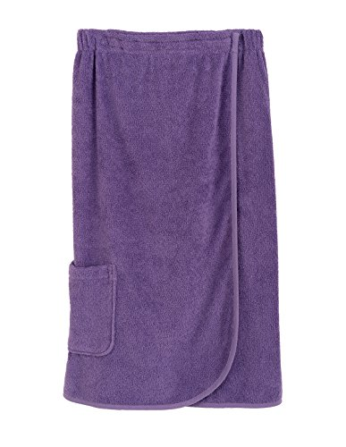 (TowelSelections Women's Wrap, Shower & Bath, Terry Spa Towel Small Bougainvillea)