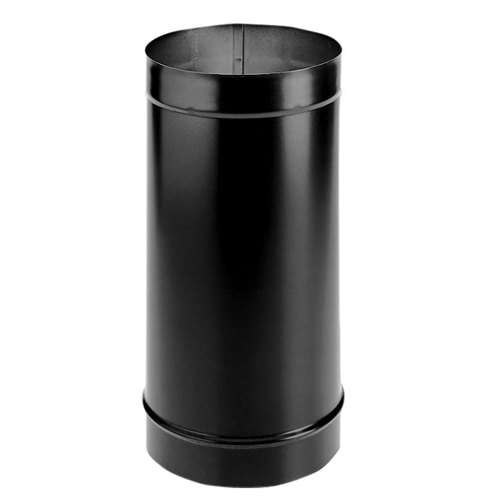 DuraBlack Single Wall Stovepipe - 6'' Diameter x 48'' Length