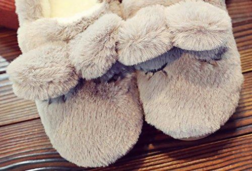 Pantofole Calde Delle Donne Del Coniglietto Delle Pantofole Pantofole Domestiche Delle Pantofole Domestiche Delle Pantofole Domestiche Di Casa