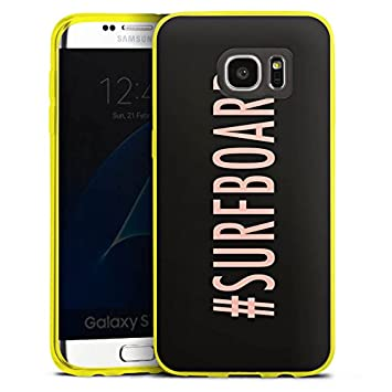Samsung Galaxy S4 Slim Case Transparente Carcasa de silicona tabla de surf Flawless Statement