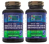 Blue Ice Royal Butter Oil / Fermented Cod Liver Oil