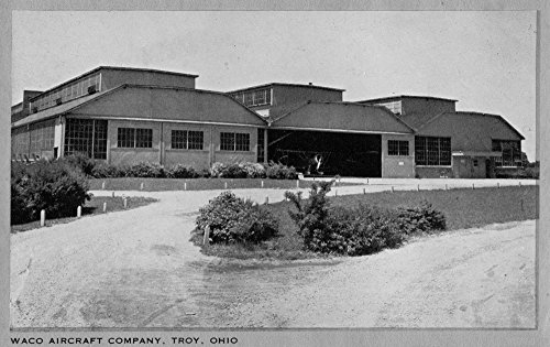Troy, Ohio - Exterior View of Waco Aircraft Company for sale  Delivered anywhere in USA
