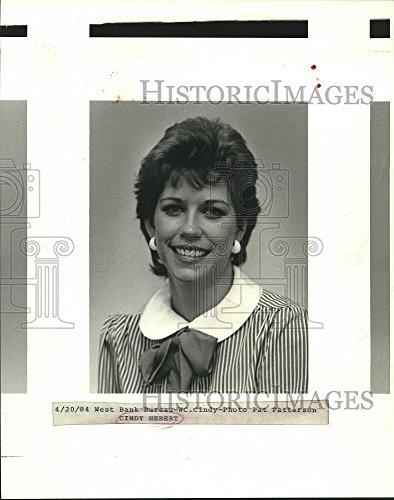 (Vintage Photos Historic Images 1984 Press Photo Cindy Hebert, Writer Our Team/West Bank Section - nob33276-10.25 x 8)