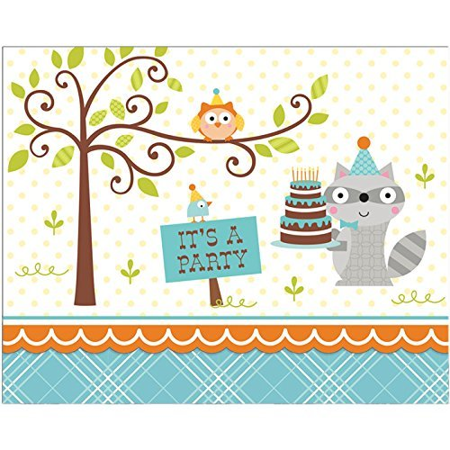 Happi Woodland Boy Invitation (8) Invites Party Supplies]()