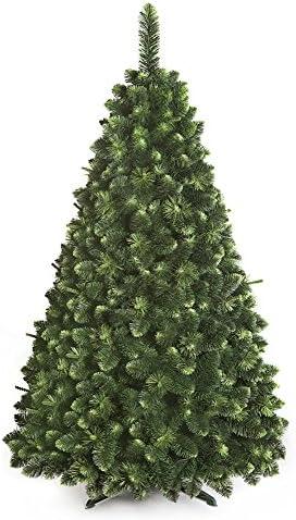 DWA ARBOL Navidad Grande en Caja, Bosque Tradicional Verde Soporte (220 cm, Young Pine)