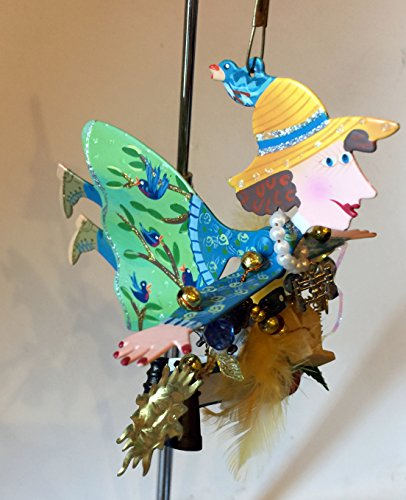 - Silvestri Karen Rossi Studios Wild Bird Watcher Fanciful Flight Ornament 4.5