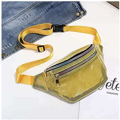 Diagonal Cross-Body Bag Outdoor Waist Pockets Suitable for Travel Unisex Multi-Function Shoulder Bag Fitness,B Close-Fitting Pockets