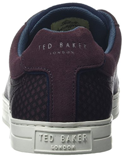 Ted Baker Mens Sarpio Sneakers Donkerrood