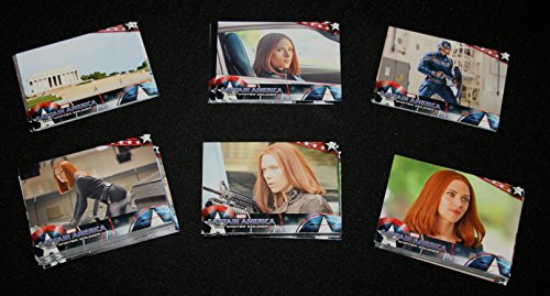 2014 Upper Deck CAPTAIN AMERICA The Winter Soldier Complete Base Set Cards (Set Trading Card Game)