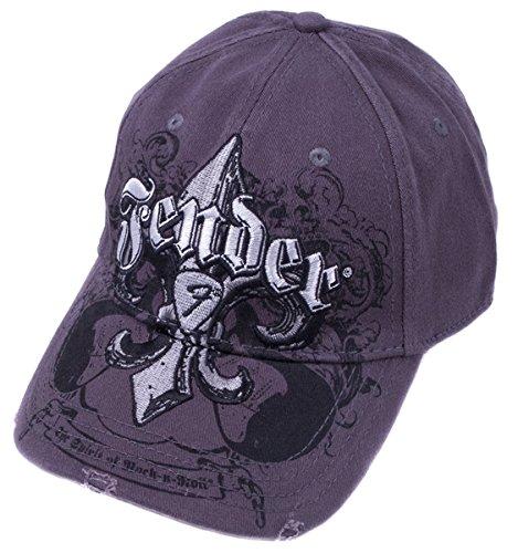 Fender® Fleur de Funk Stretch Cap, Charcoal, S/M