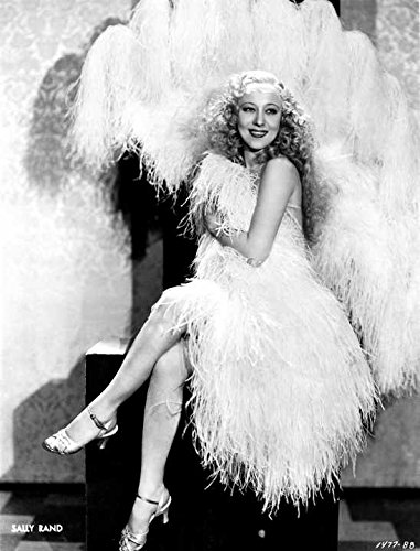 Sally Rand Dressed in Feathered Costume Portrait Premium Art Print (Old Hollywood Movie Star Costumes)