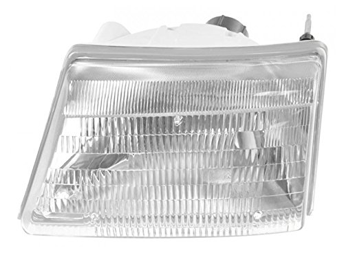 00 Ford Pickup (Headlight Headlamp Driver Side Left LH for 98-00 Ford Ranger Pickup Truck)