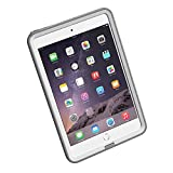 LifeProof FRE iPad Mini/Mini 2/Mini 3 Waterproof Case - Retail Packaging - AVALANCHE (WHITE/GREY)