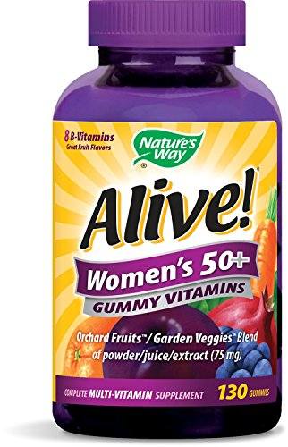 Nature's Way Alive 50+ Women's Multi-Vitamin, Garden Vegg...