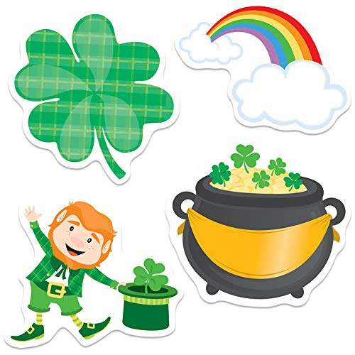 Carson Dellosa CD-120222BN 3 Each St. Patricks Day Cut-Outs