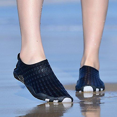 Chaussures Deau Hinzer Pour Hommes Femmes Séchage Rapide Aqua Chaussures A-black