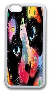 cat 02 Custom iphone 5C inch Case Cover TPU White