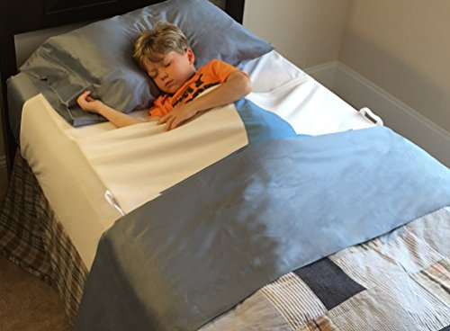 Luxurious Waterproof Bed Wetting Pad Protects Top and Bottom