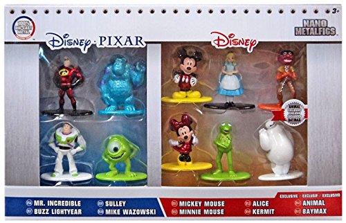 Disney Nano Metalfigs Die-Cast Mini-Figures 10-Pack Mini Diecast Figures