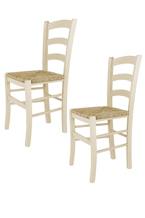 Tommychairs sedie di design - Set 2 sedie modello VENEZIA per cucina ...