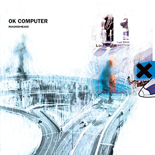 Original album cover of OK Computer by Radiohead