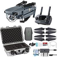 DJI Mavic Pro Drone with Custom Nanuk Waterproof Hard Case (Silver)