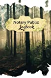 """Notary Public Logbook: 50 Pages, 5.5"""" x 8.5"""" Mystic Forest"""